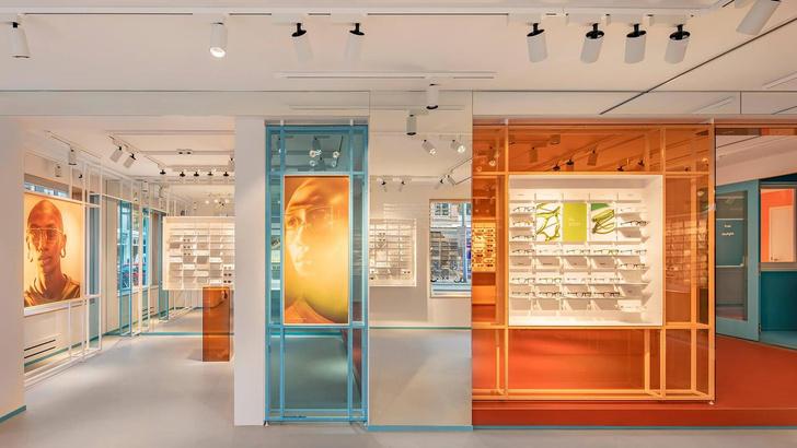 Яркая оптика: флагманский бутике Ace & Tate в Амстердаме (фото 0)