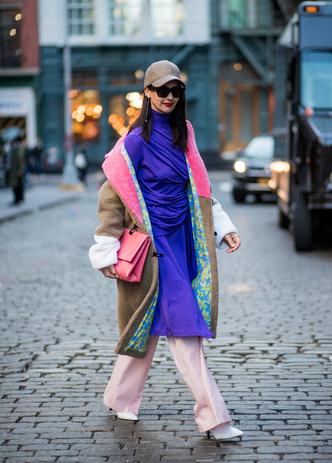 Что носят на Неделе моды в Нью-Йорке: 12 стритстайл-трендов (фото 20.2)