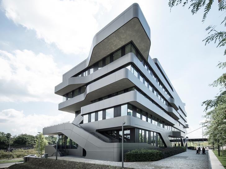 Новый университет в Дюссельдорфе по проекту J. Mayer H. (фото 5)