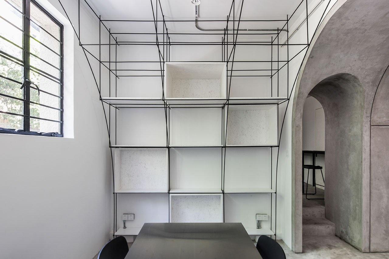 Монохромный офис в Шанхае (галерея 6, фото 4)