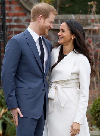 Фото дня: принц Гарри и Меган Маркл после объявления о помолвке (фото 4)