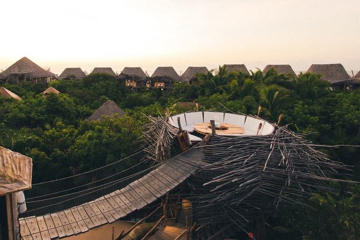 Отель Azulik с pop-up бутиком Dior в джунглях Тулума (фото 7)
