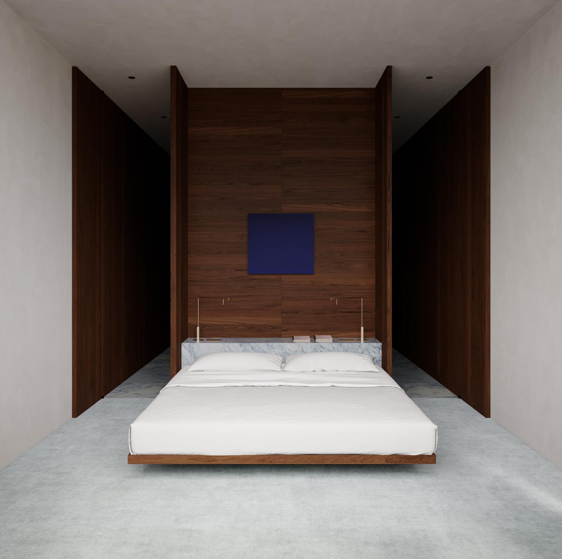 Низкая кровать: 30+ примеров для спальни (галерея 2, фото 0)