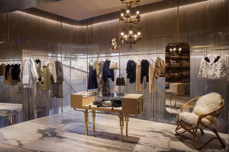 Fendi Монте-Карло: новый бутик по проекту Dimore Studio (фото 5)
