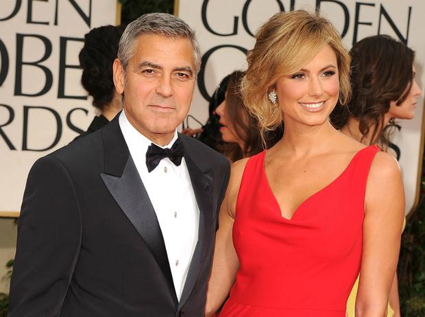 Джордж Клуни и Стейси Кейблер фото