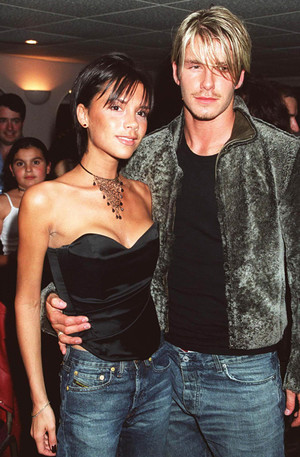 Виктория и Дэвид Бекхэм, 1999 год
