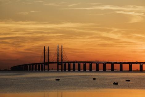 Небо и вода: из Мальмё в Копенгаген по Эресуннскому мосту | галерея [2] фото [2]