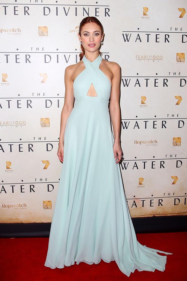 Красивое вечернее платье от Prada