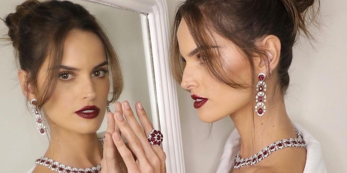 Как сочетать макияж и украшения — учимся у моделей на Каннском кинофестивале
