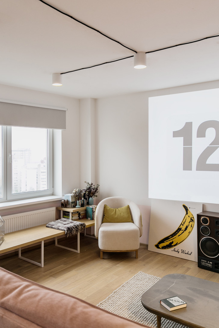 Минималистичная квартира 46 м² в Минске (фото 10)