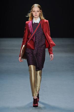 Показы мод Vivienne Tam Осень-зима 2012-2013 | Подиум на ELLE - Подиум - фото 1621