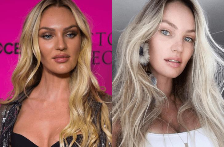 Как выглядят без макияжа модели Victoria's Secret ? (фото 2)