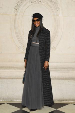 Гости на показе Dior Haute Couture в Музее Родена (фото 7)