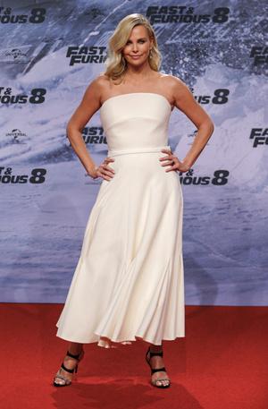Шарлиз Терон в Dior Haute Couture