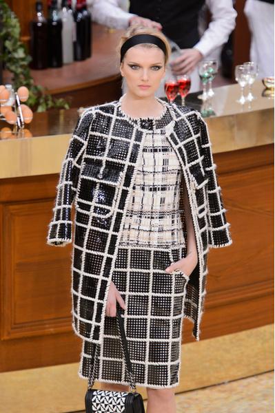 Главные тренды осень-зима 2015 | галерея [1] фото [6] Chanel