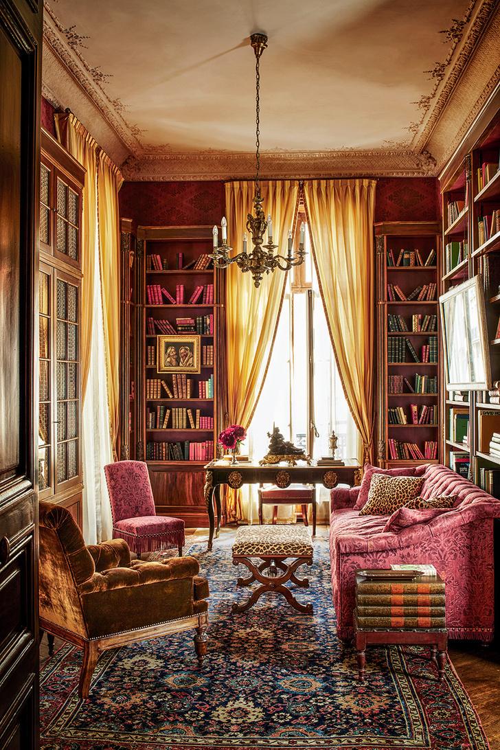 Квартира в парижском особняке XVIII века фото [6]
