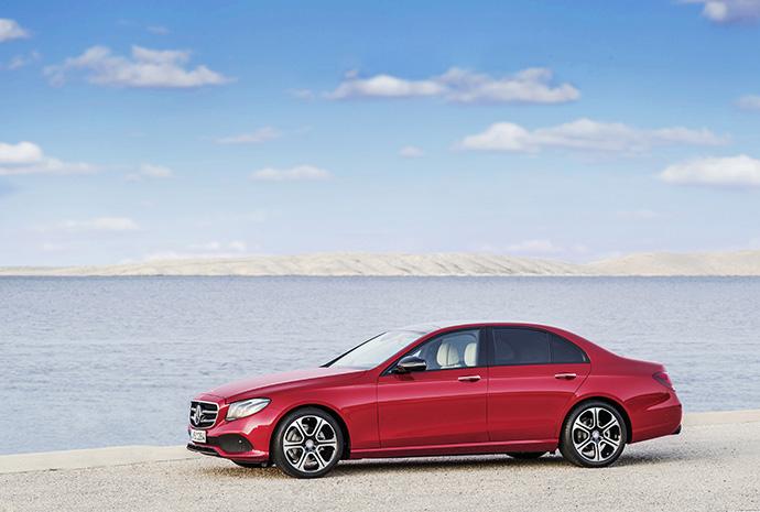 Новый седан Е-Класса от Mercedes-Benz 4
