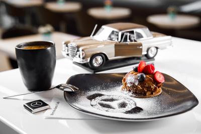 В «Шереметьево» появилось кафе Mercedes-Benz Café (галерея 1, фото 0)