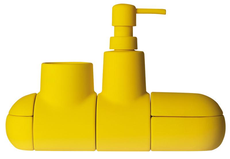 Контейнеры Submarino для аксессуаров в ванную, Seletti, магазины Design Boom.