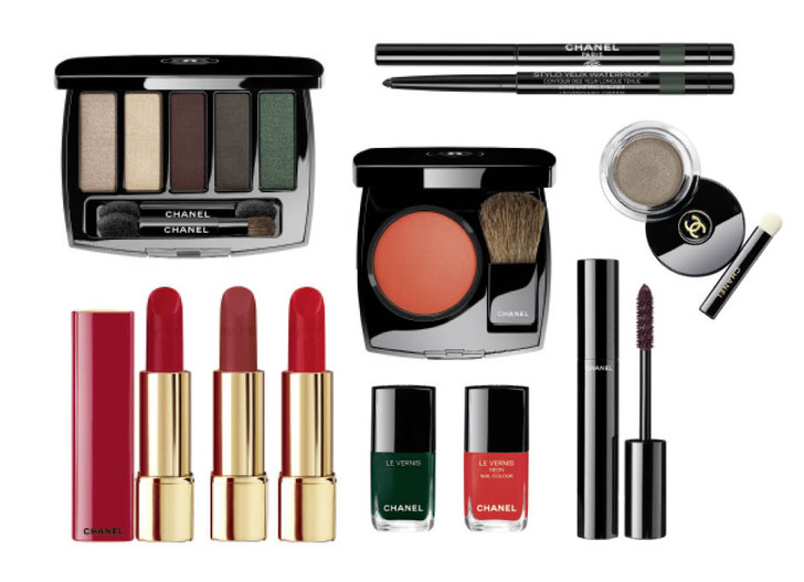 Chanel Numeros Rouges фото новогодняя коллекция