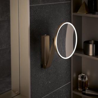 Топ 12: освещение в ванной. Мебель, зеркала, душевые лейки и ванны со встроенной подсветкой (фото 10.2)