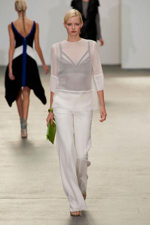 Показы мод Antonio Berardi Весна-лето 2013 | Подиум на ELLE - Подиум - фото 1165