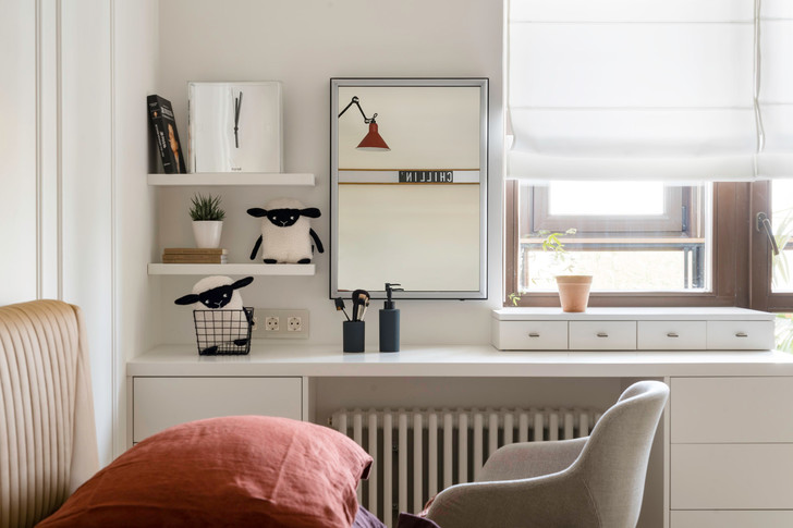 Современная квартира 75 м² для молодой девушки (фото 13)
