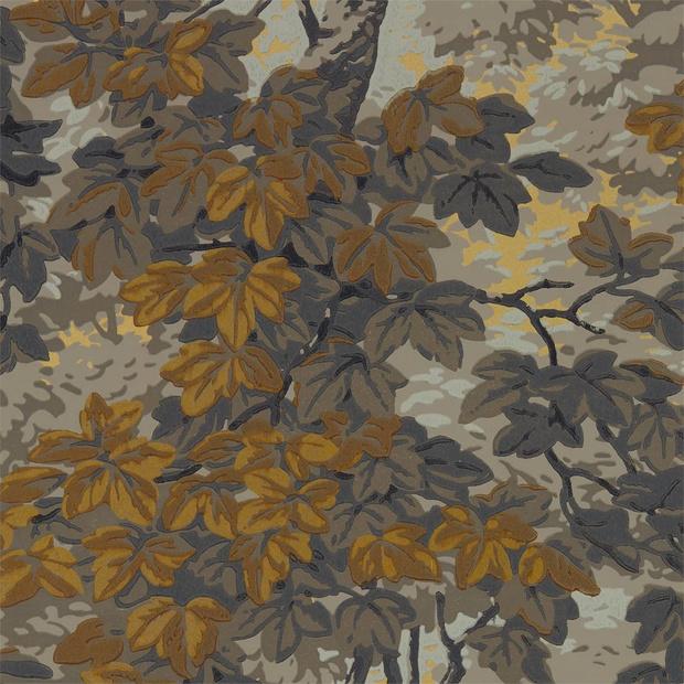 осенние ткани и обои (фото 7)