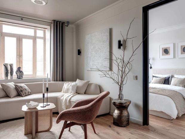 Московская квартира 49 м² в экостиле: проект Анны Васильевой (фото 3)