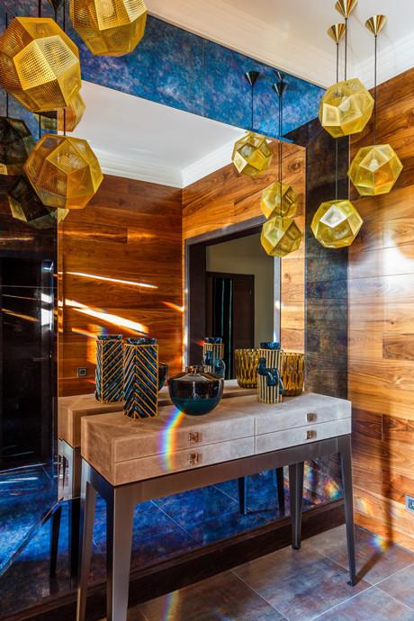 Зеркала в прихожей: 15 стильных решений (галерея 0, фото 4)