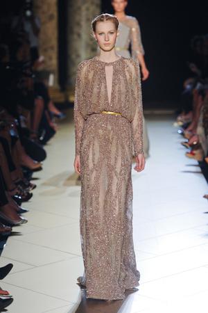 Показ Elie Saab коллекции сезона Осень-зима 2012-2013 года haute couture - www.elle.ru - Подиум - фото 404573