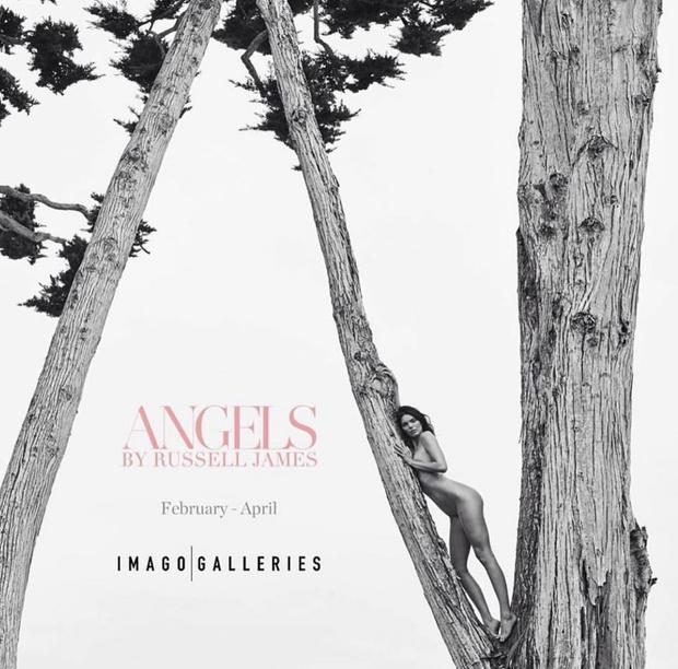 Ангелы ограниченным тиражом: обнаженные супермодели Синди Кроуфорд и Кэролин Мерфи (фото 6)