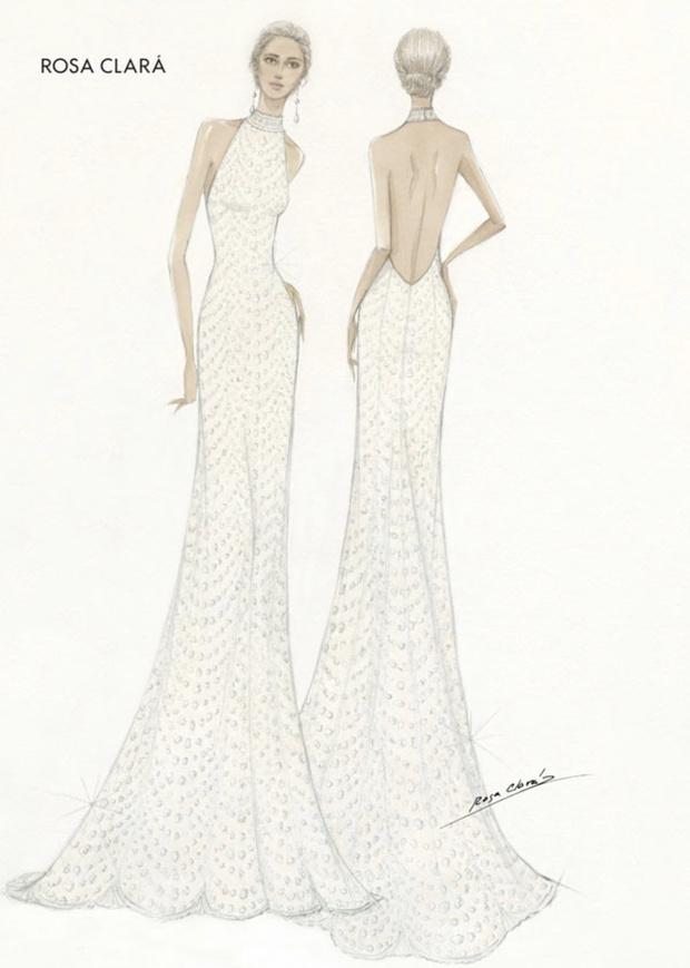 Как у Меган: второе свадебное платье невесты Рафаэля Надаля (фото 1)