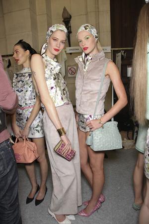 Показ Loewe коллекции сезона Весна-лето 2011 года prêt-à-porter - www.elle.ru - Подиум - фото 192719