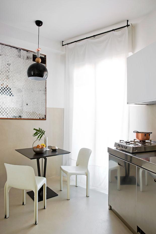 Маленькая кухня-столовая: 12 практичных советов (фото 43)