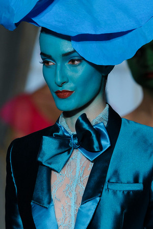 Показ Alexis Mabille коллекции сезона Весна-лето 2012 года Haute couture - www.elle.ru - Подиум - фото 330381