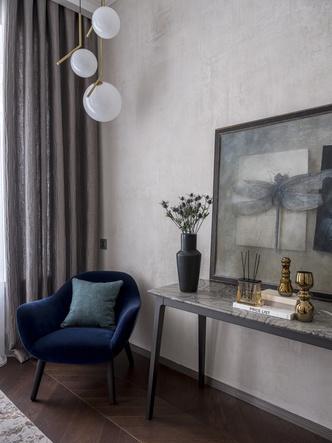 Лофт и ар-деко: квартира 124 м² в Москве (фото 8.1)
