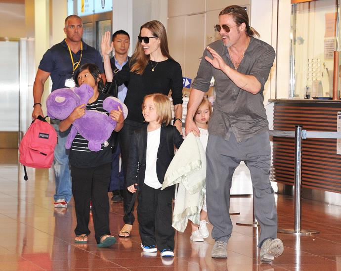 Брэд Питт и Анджелина Джоли готовятся отпраздновать День Благодарения