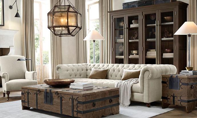 Мебель, Restoration Hardware.