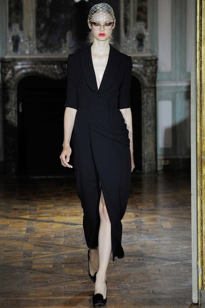 Показ Ulyana Sergeenko на Неделе высокой моды | галерея [1] фото [19]