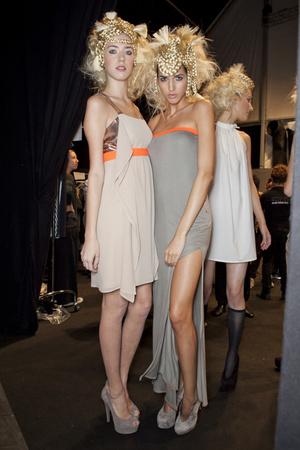Показ New upcoming designers коллекции сезона Весна-лето 2013 года prêt-à-porter - www.elle.ru - Подиум - фото 452758