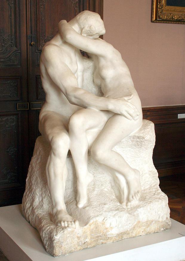 Любовное настроение: 24 культовые скульптуры, картины и фотографии поцелуев (фото 20)