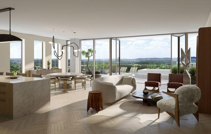 Austin Proper Hotel: новый отель по дизайну Келли Уэстлер (фото 10)