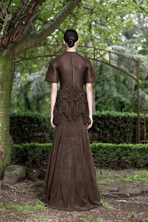 Показ Givenchy коллекции сезона Осень-зима 2012-2013 года haute couture - www.elle.ru - Подиум - фото 404594