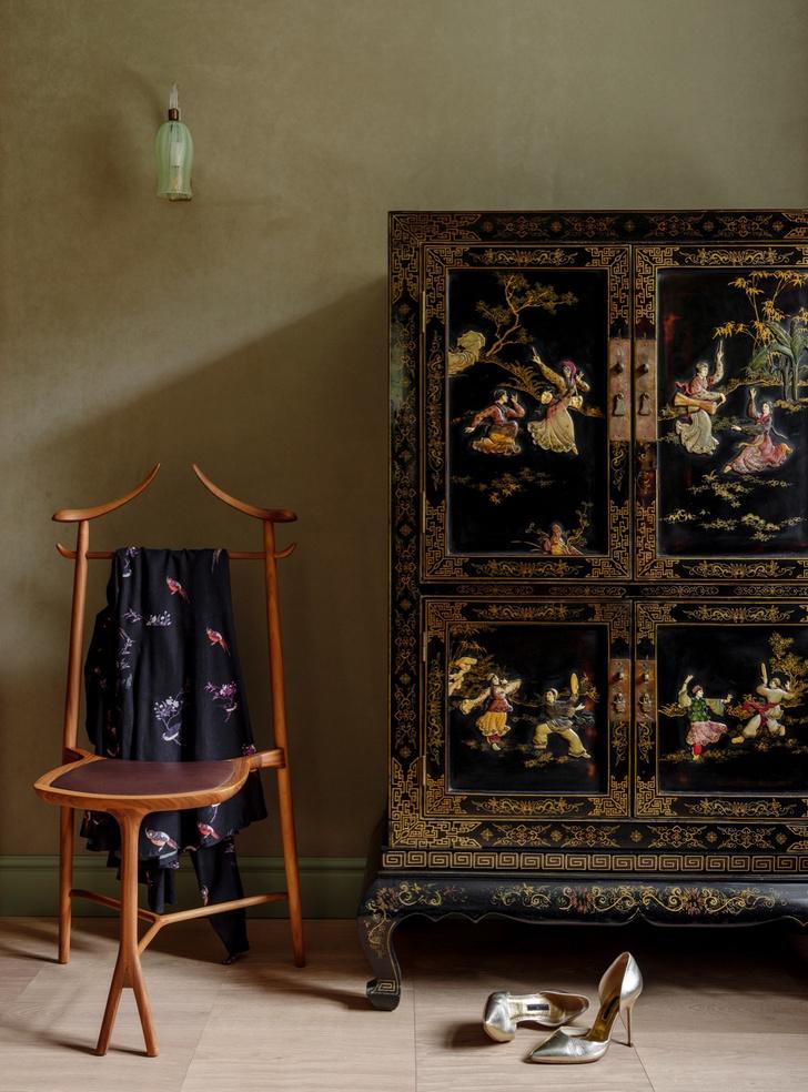 Интерьер с обложки: интерьеры старинного особянка в Юрмале (фото 25)