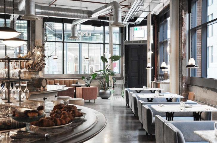Лондонский ресторан в скандинавском стиле (фото 0)