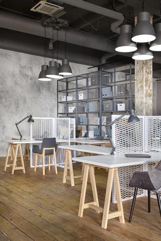 Московский офис в стиле лофт с яркими акцентами (фото 3.2)