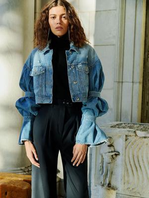 7 новых способов носить брюки на высокой талии (фото 22)