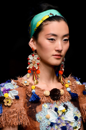 Показ Dolce & Gabbana коллекции сезона Весна-лето 2013 года Prêt-à-porter - www.elle.ru - Подиум - фото 446714