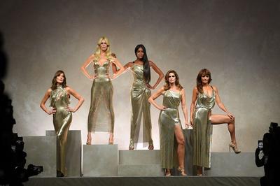 Ким Кардашьян в платье как у Донателлы Версаче на afterparty Met Gala (галерея 7, фото 1)